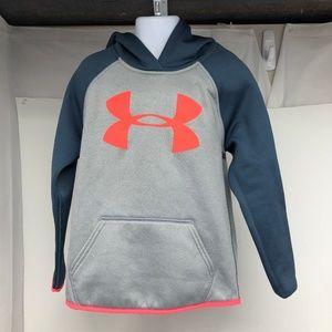 Under Armour Fleece® Big Logo Med Girls - A0907